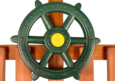 Gorilla Playsets Large Ships Wheel - Green