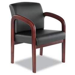 Leather Reception Guest Chair