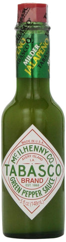 Tabasco Milder Green Pepper Sauce, 5 Ounce