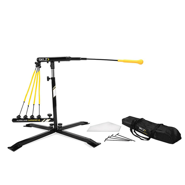 SKLZ Hurricane Swing Trainer for Baseball and Softball - Category 4 Solo Batting Trainer