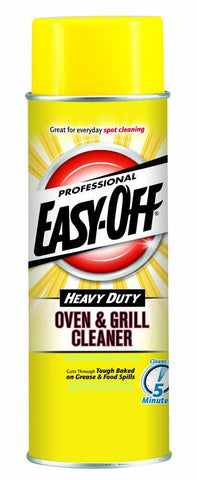 Easy Off Heavy Duty Oven and Grill Cleaner, 24-Ounce Cans, 2-Count