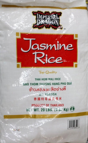 Imperial Dragon Jasmine Rice, 20-Pound
