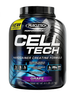 MuscleTech Cell Tech Performance Series Grape -- 6 lbs