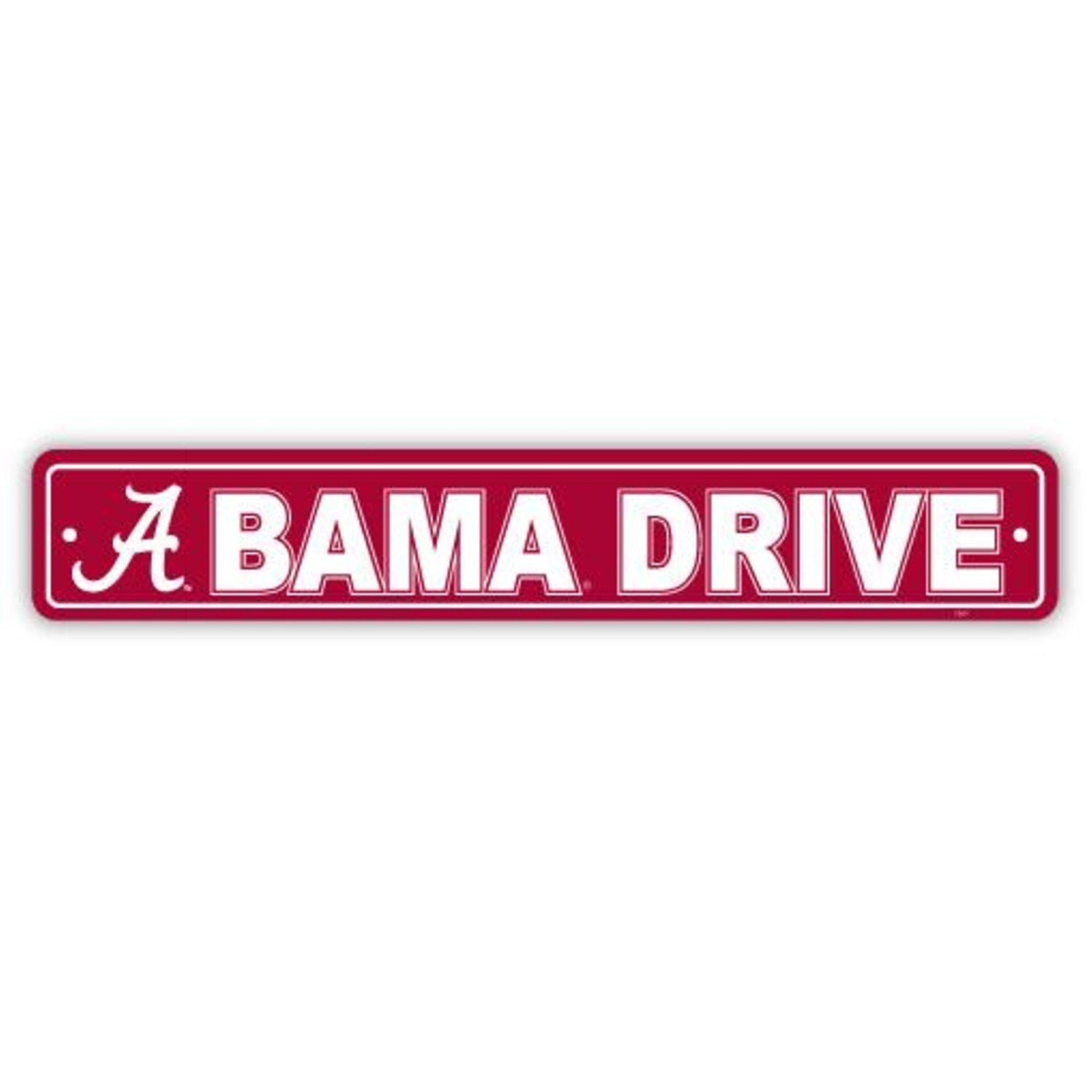 NCAA Alabama Crimson Tide Street Sign
