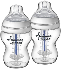 Tommee Tippee Closer to Nature Sensitive Tummy Bottles - Unisex - 9 oz - 2 ct, Size 8 - 10 oz