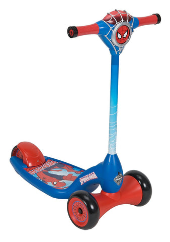 Huffy Bicycle Company Marvel Ultimate Spiderman Lights and Sounds Scooter