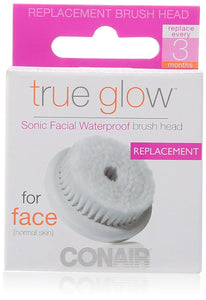 Conair True Glow Sonic Facial Brush Replacement Brush Heads