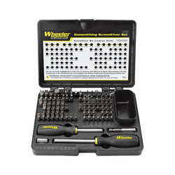 Wheeler 89-Piece Deluxe Gunsmithing Screwdriver Set, Black/Yellow