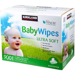 Kirkland SignatureTM Baby Wipes 900ct.
