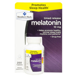 Member's Mark 10 mg Melatonin Dietary Supplement (250 ct.)