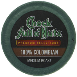 Chock full o'Nuts Coffee 100% Colombian Medium Roast