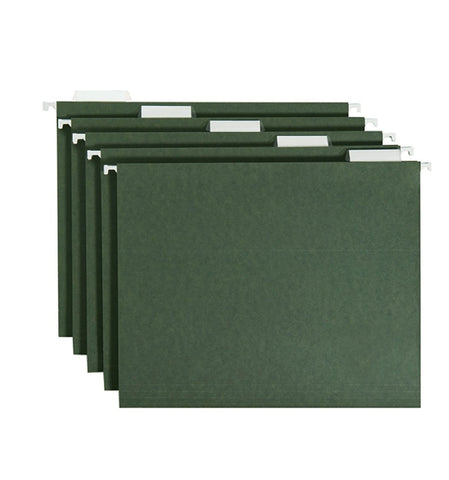 Smead Hanging Folders, Green, Letter Size