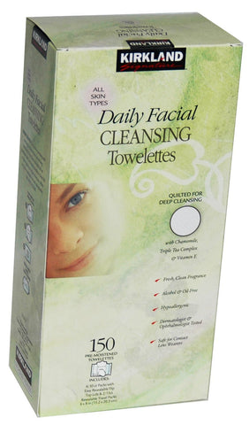 Kirkland Signature Daily Facial Cleansing 150 Count