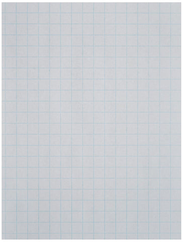 School Smart Double Sided Graph Paper with 1/2 in Rule - 8 1/2 x 11 inches - Ream of 500 - White