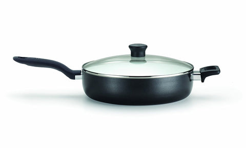 T-fal Initiatives Ceramic Nonstick PTFE-PFOA-Cadmium Free Dishwasher Safe Oven Safe Jumbo Cooker Cookware