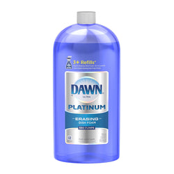 Dawn Platinum Dishwashing Foam Refill, Fresh Rapids, 30.9 Ounce