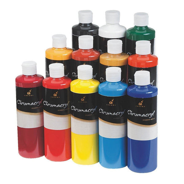 Chromacryl Acrylic Paint Set 16 oz.
