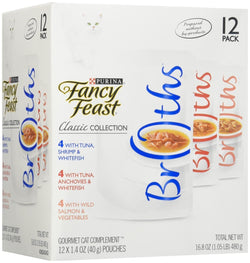 Fancy Feast Purina Cat Complement Variety Pack - Classic Collection Gourmet - 1.4 oz, 12 Pack