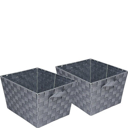 Honey-Can-Do 2-Piece Woven Basket Set