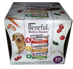 Purina Beneful Medleys Sampler, 12 ct. (3 oz. cans)