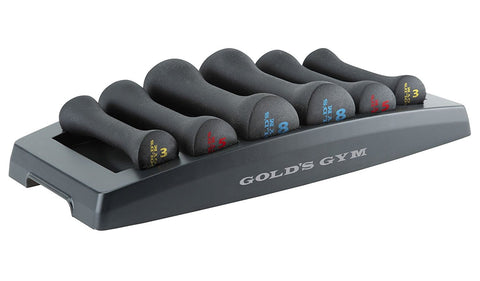 Gold's Gym 6 in 1 Dumbell Set Power Kit WGGDBK12