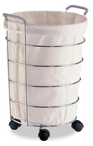 Organize It All 01766-6 Laundry Basket With Canvas Bag