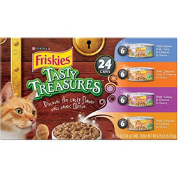 Friskies Tasty Treasures, 24/5.5oz Cans