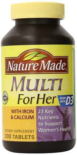 Nature Made Multi for Her - 300 Tablets