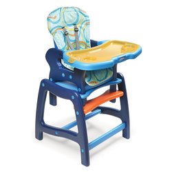 Badger Basket Envee Baby High Chair with Playtable Conversion