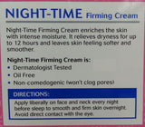 Night-Time Firming Cream by Equate 2oz, Compare to Olay Night of Olay