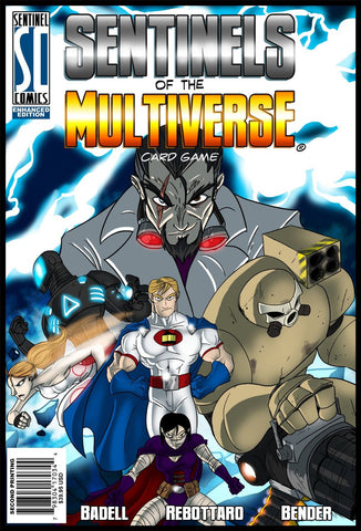 Greater Than Games 0001E Sentinels Of The Multiverse - Enhanced 2Nd Edition