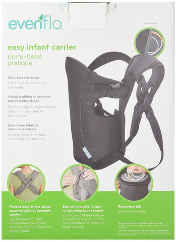 Evenflo Infant Soft Carrier - Creamsicle