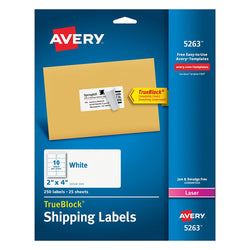 Avery Shipping Labels for Laser Printers