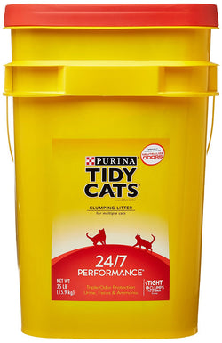 GOLDEN CAT COMPANY 702013 Tidy Cats Long Lasting Odor Control Scoop Pail 35-Pound