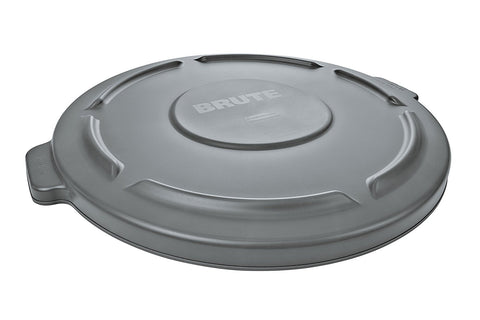 Rubbermaid Commercial Round Brute Container Lid, Gray