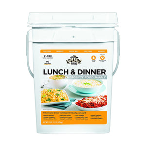 Augason Farms Lunch & Dinner Emergency Food Supply