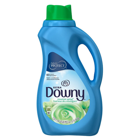 Downy Ultra Fabric Softener Mountain Spring - 60 Loads