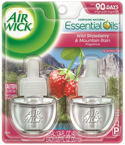 Air Wick Scented Oil Refill Plug in Air Freshener Essential Oils, National Park, Yosemite, 2ct, 1.34oz