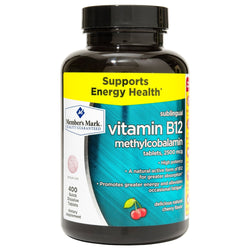 Member's Mark Vitamin B-12 Sublingual High Potency Methylcobalamin 5000mcg Tablets