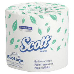 Kimberly-Clark Scott 2-Ply Standard Roll Bathroom Tissue