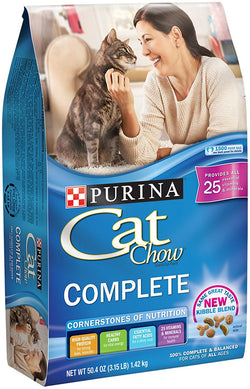 Purina Cat Chow Complete Cat Food 3.15 lb