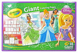 Disney Princess Giant Coloring 18 Pages - Disney Princess