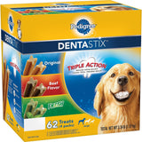 Pedigree DentaStix Dog Treats Assorted Flavors 62 Treats