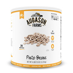 Augason Farms Pinto Beans #10 Can, 79 oz