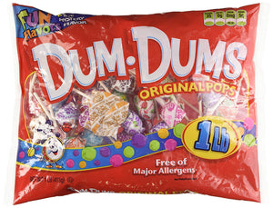 Dum Dum Pops 1LB Bag