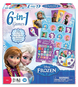 Frozen 6-in-1 Game Collection