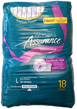 Assurance for Women Maximum Absorbency Protective Underwear with Comfort Shape
