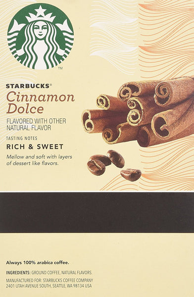 Starbucks Cinnamon Dolce K Cups 0.35oz 16 count