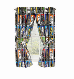 Star Wars Microfiber Drapes 63""