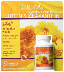 TruNature Vision Complex with Lutein & Zeaxanthin - 140 Softgels per Bottle